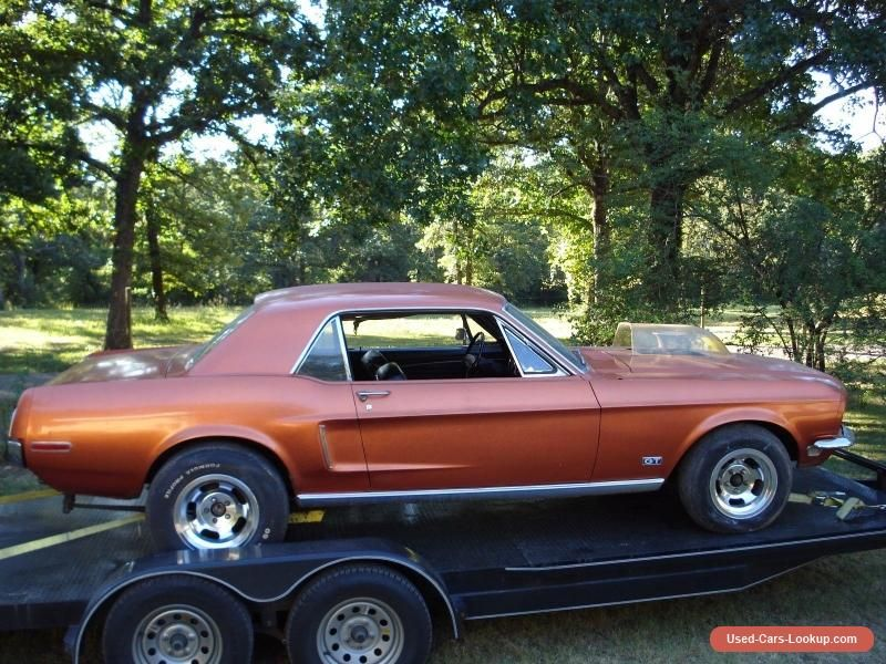 1968 Ford Mustang GT #ford #mustang #forsale #unitedstates | Cars ...