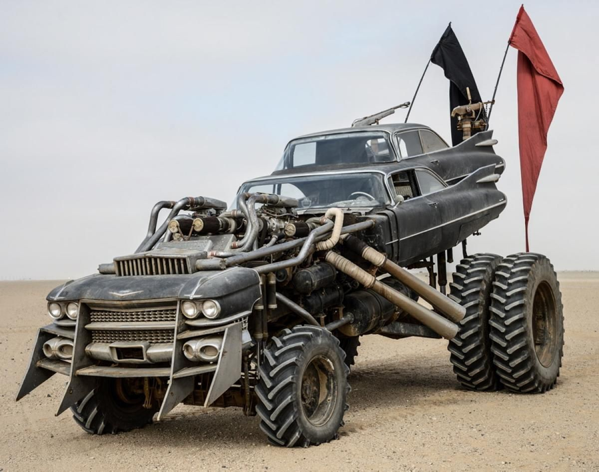 The gigahorse from mad max fury road photos mad max cars the post apocalyptic rides of mad max fury road