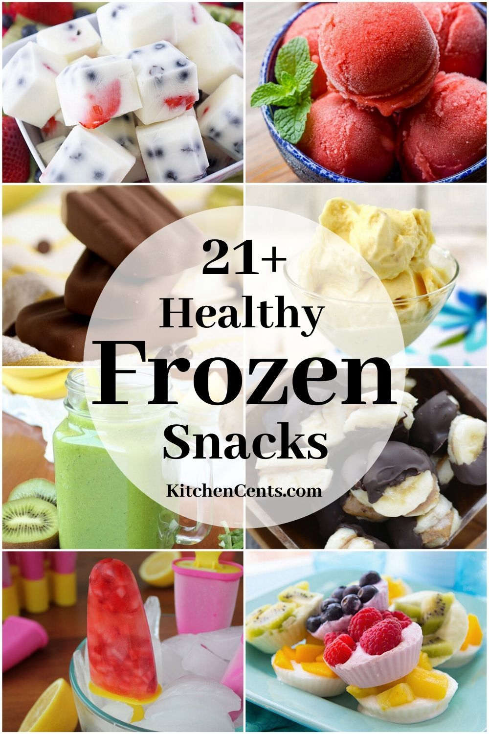 21+ Healthy Frozen Snacks