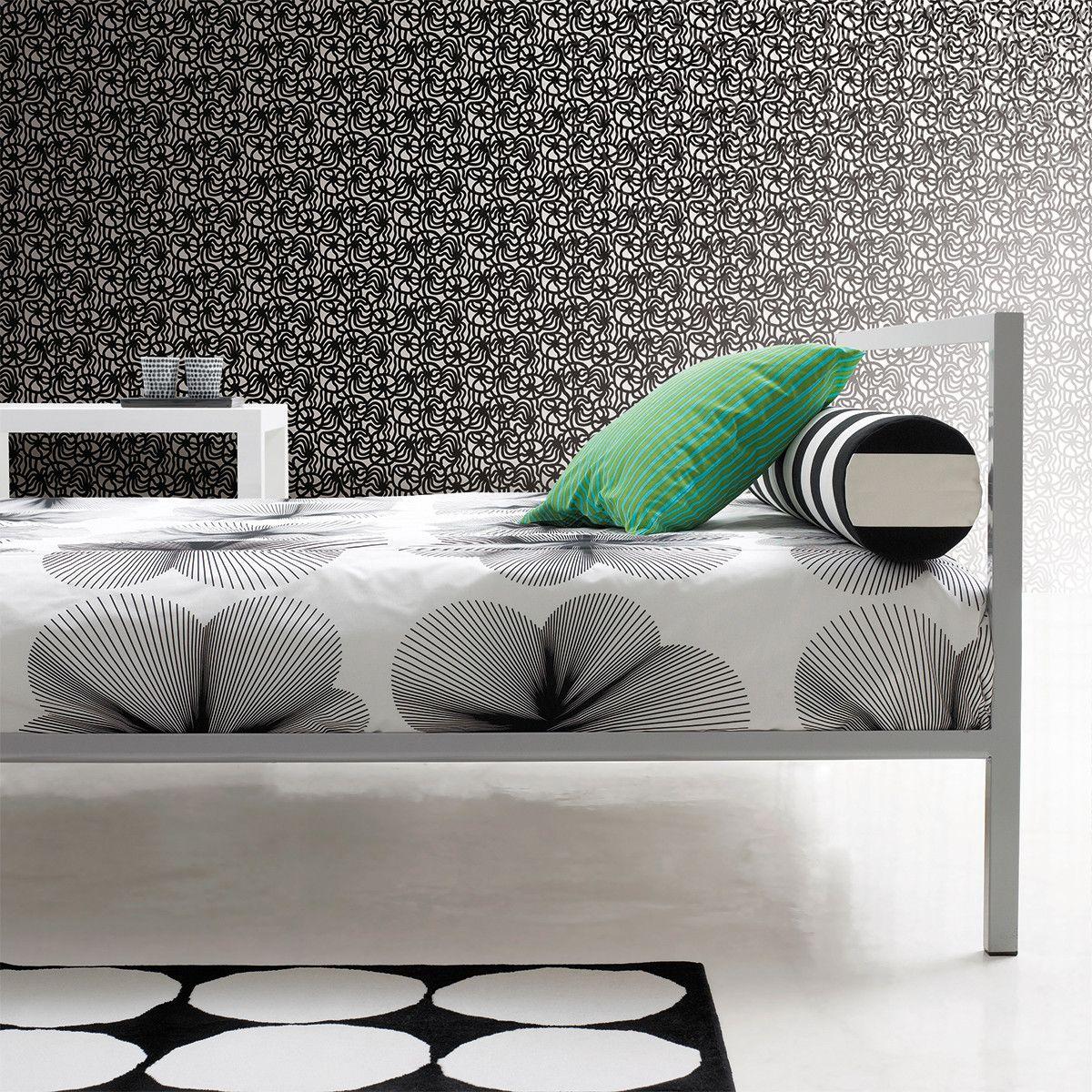 Marimekko Faux Brick Wallpaper Design Modern Wall Art Canvas