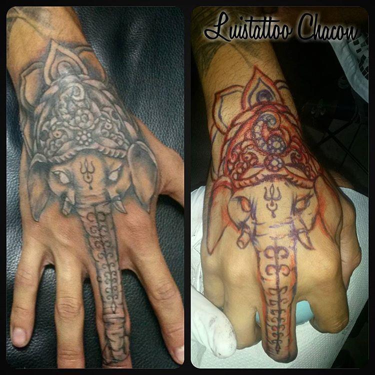 A Mano Alzada Tatuaje Freehandtattoo Arte Design Dibujo Elephant Ganesha Shadow Lineas Tattoo Mit Diseno De Elefante Disenos De Unas Elefante Tattoo