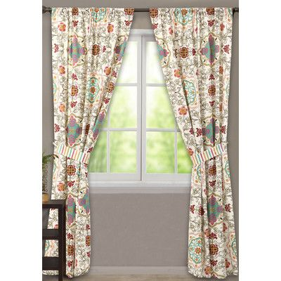 Greenland Home Fashions Esprit Window Curtain Panels Reviews