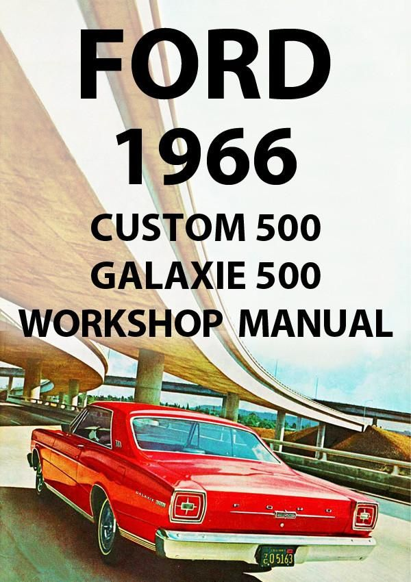 1966 ford galaxie 500 owners manual