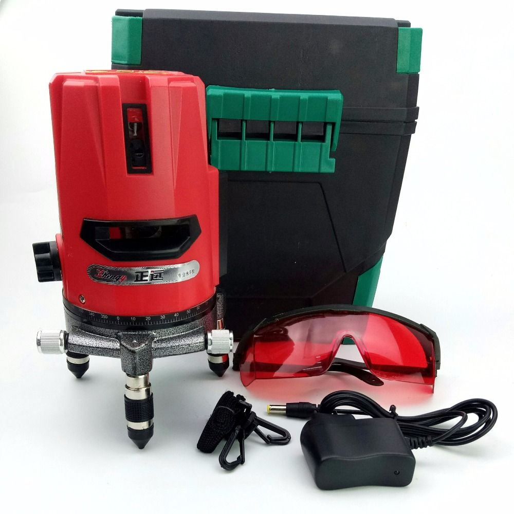 Laser Level 2 Line 1 Dot 1v1h High Precision Laser Level 360 Rotary Self Leveling With Outdoor Mode Corss Line Lazer Level To Laser Levels High Precision Lazer