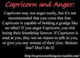 When a capricorn man is hurt