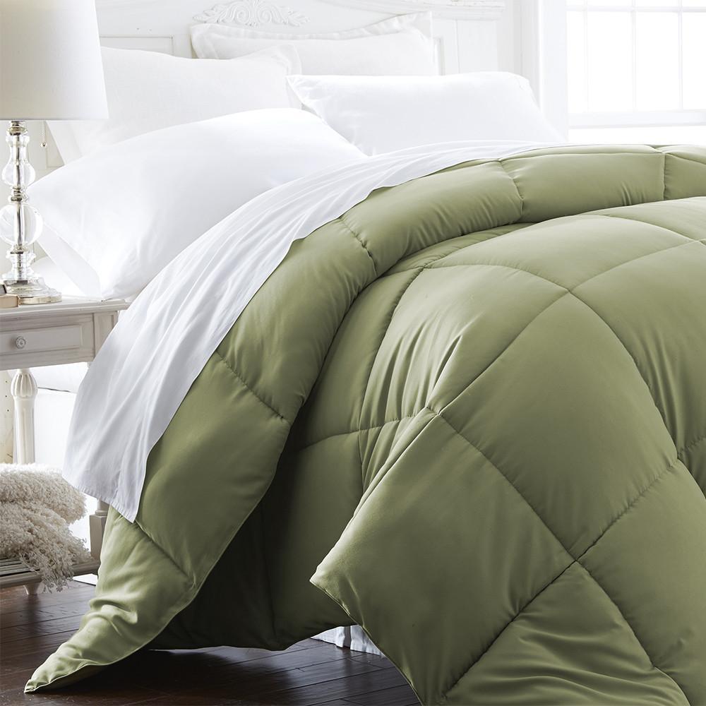 Down Alternative Comforter Sleeping In Bed Premium Bedding King Size Duvet