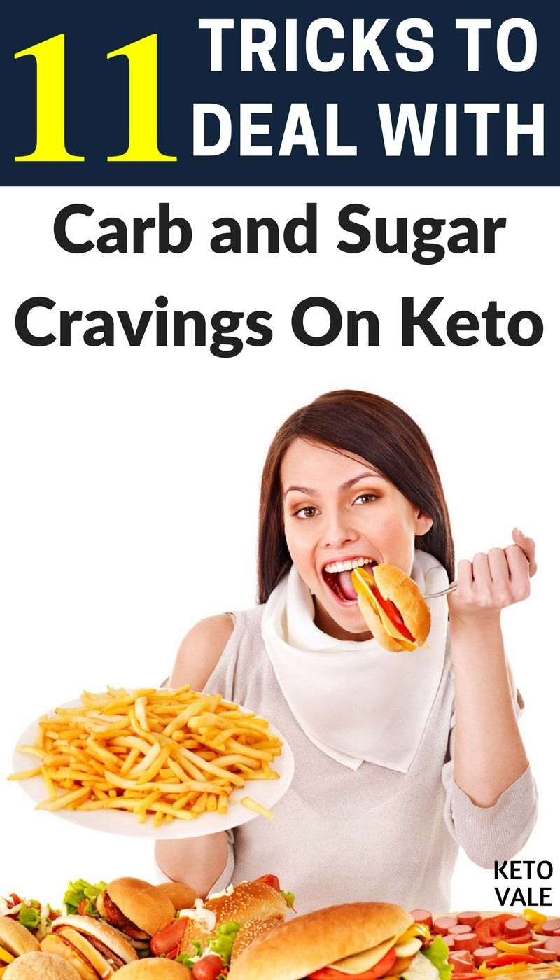 craving carbs on keto diet