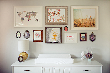 If you had to pick a perfect shade of gray to paint your nursery walls, the one pictured above just might be it. Paired with bright white furniture, a...