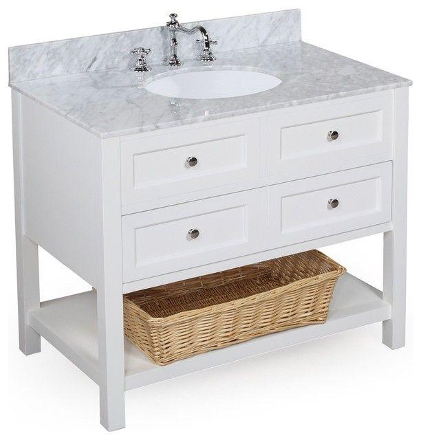 Transitional 32 Bathroom Vanity And Sink Consoles Best Bathroom
