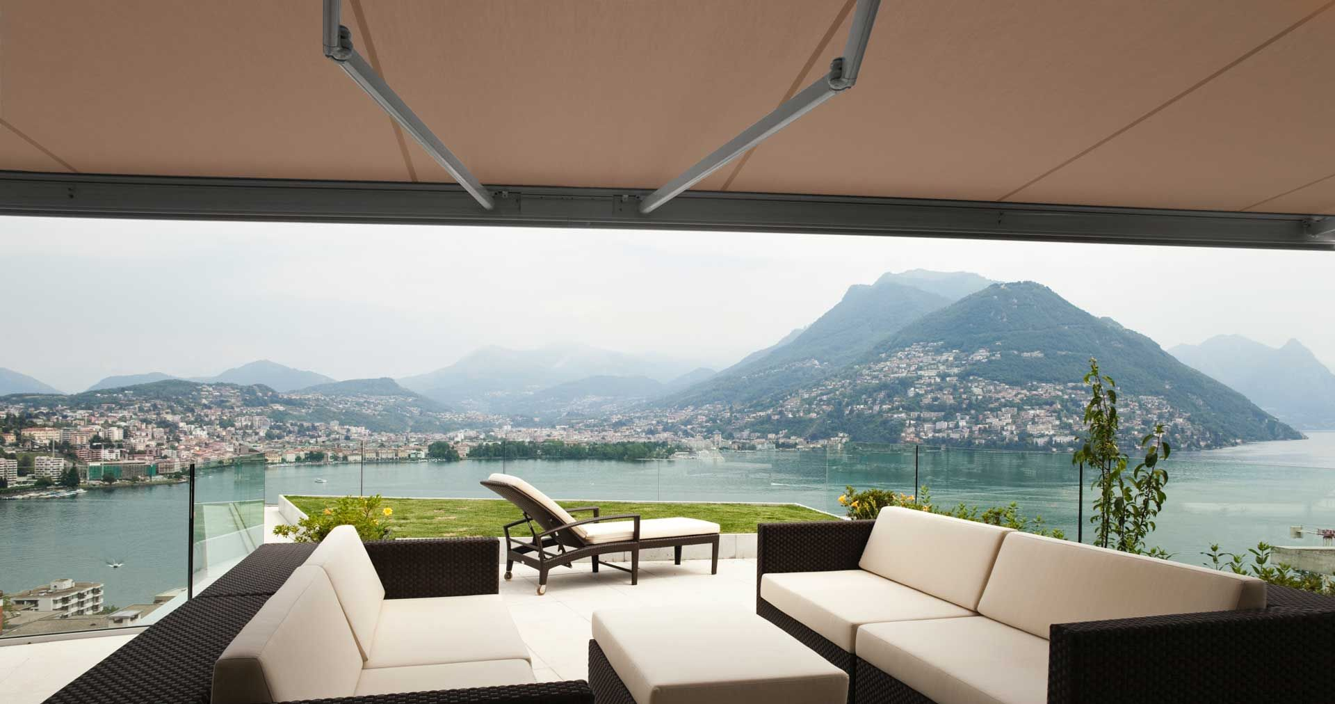 Awnings for mobile home