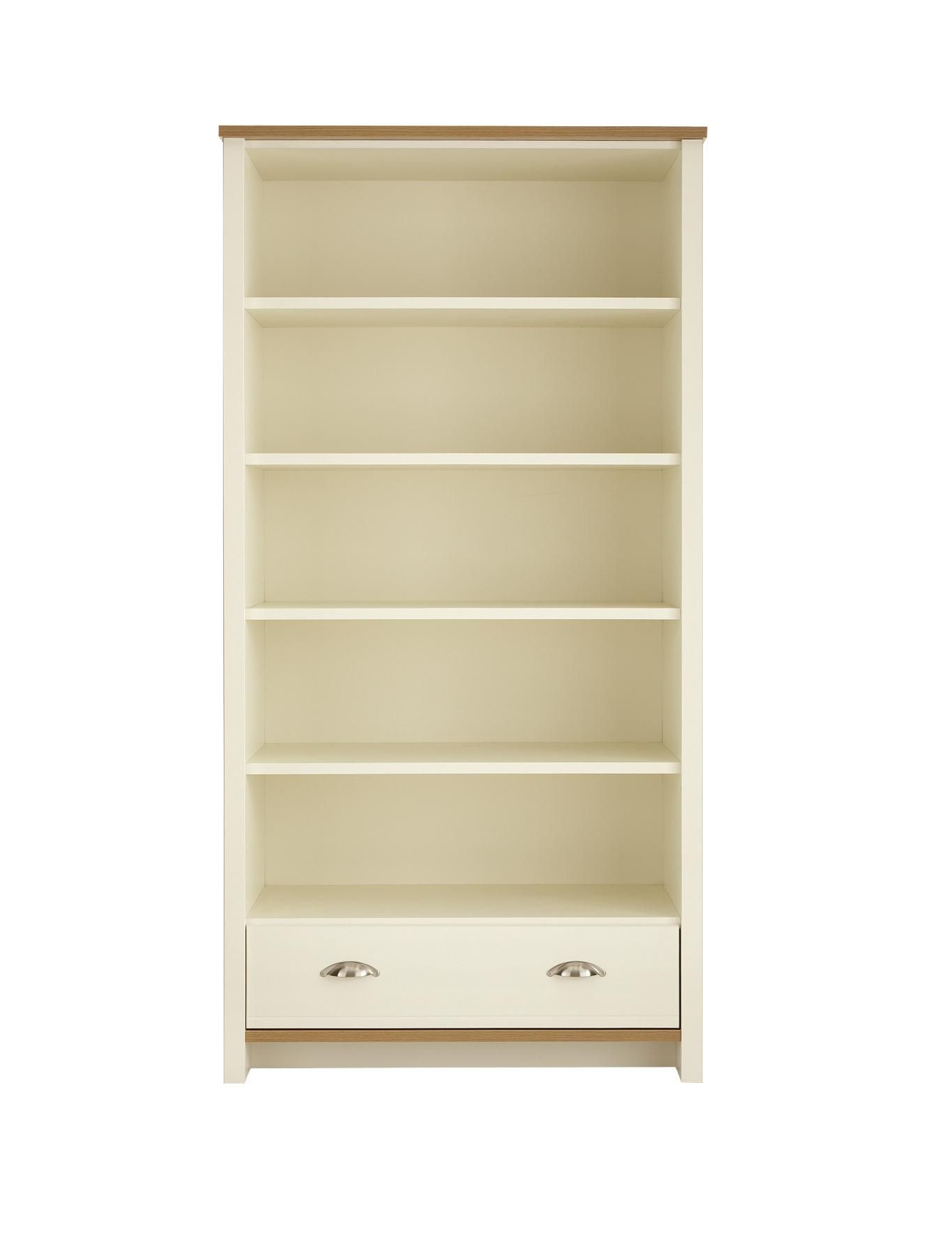 Consort Tivoli Ready Assembled Large Bookcase verycouk – Ready to Assemble Bookcase