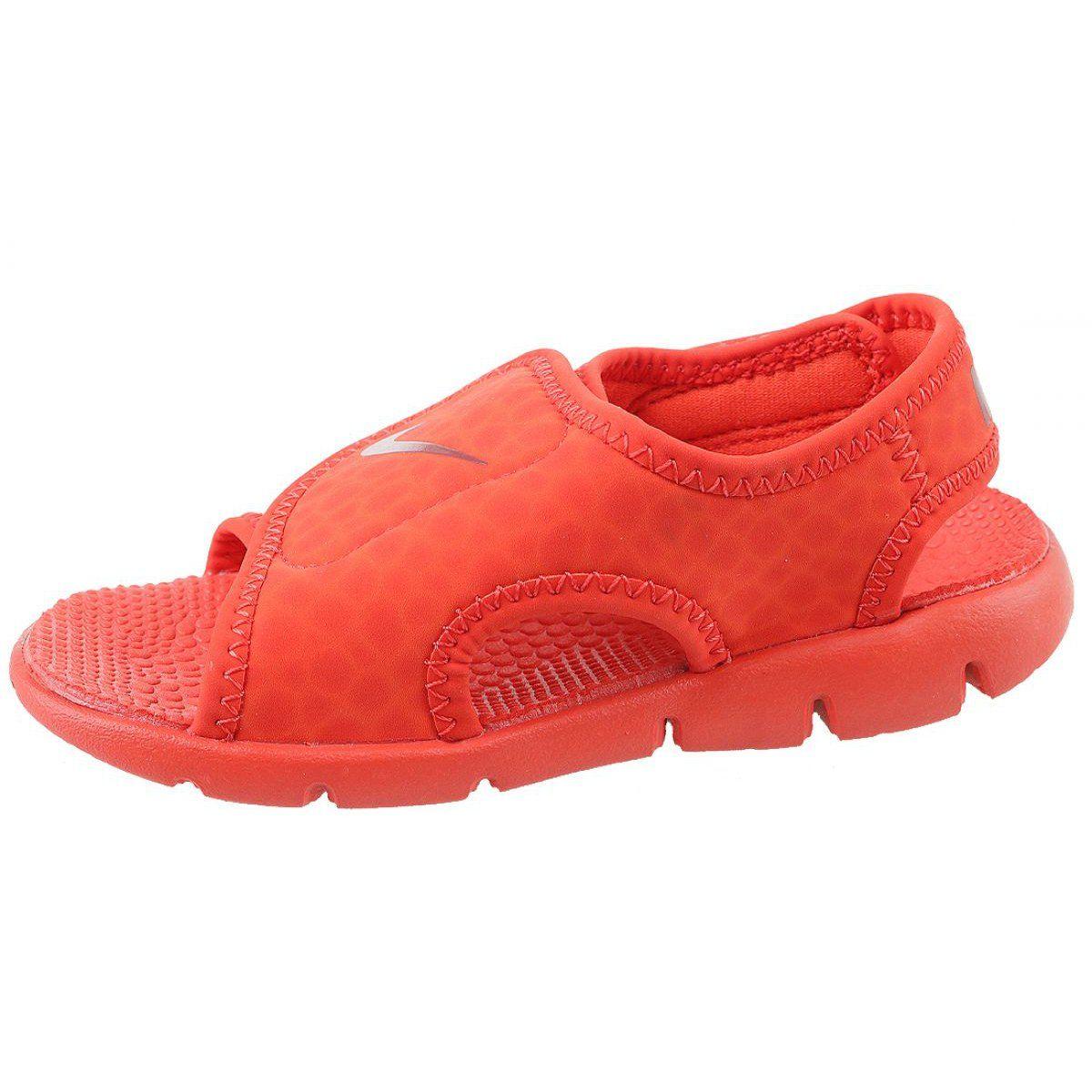 Sandaly Nike Sunray Adjust 4 Ps Jr 386518 603 Czerwone Kid Shoes Nike Shoes Perfect Shoes