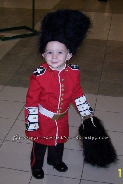 Child British Redcoat Costume