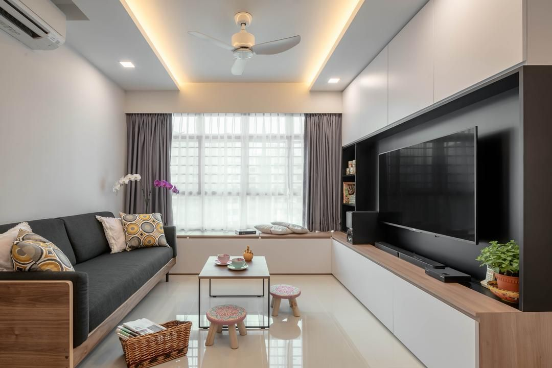 Check out this Scandinavian-style HDB Living Room and other ...
