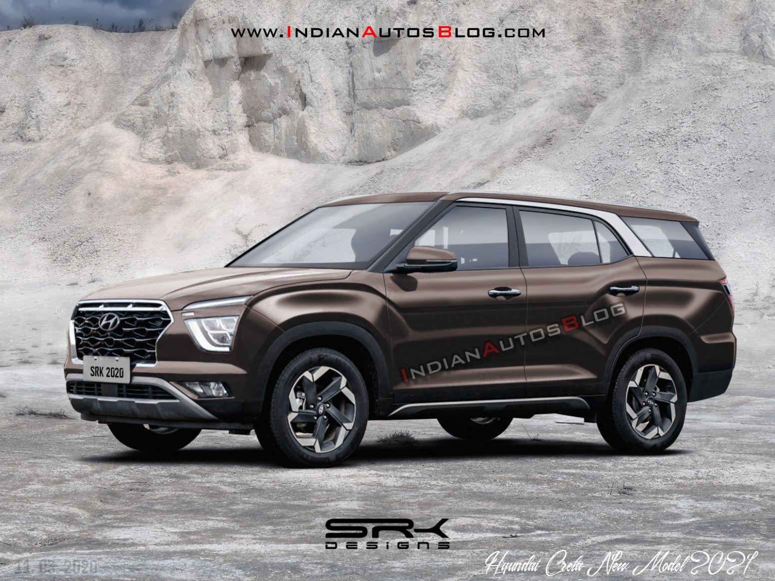 Hyundai Creta New Model 2021 Spy Shoot In 2020 Hyundai Product Launch Rendering