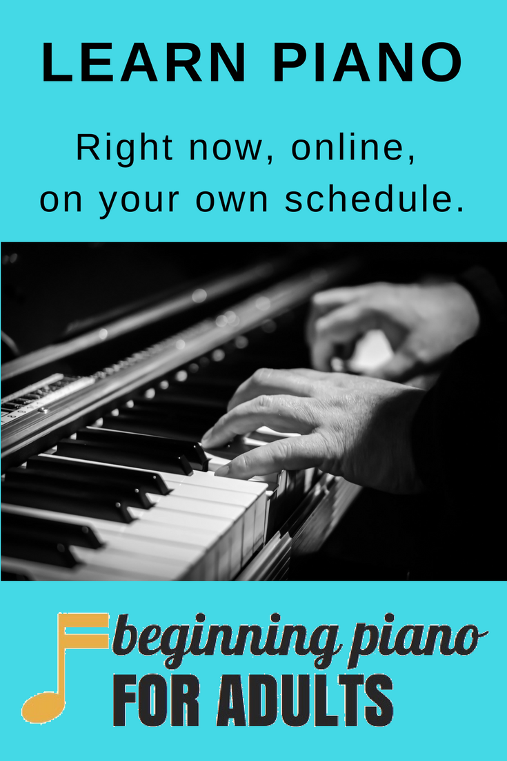 Adult beginner lesson online piano have hit