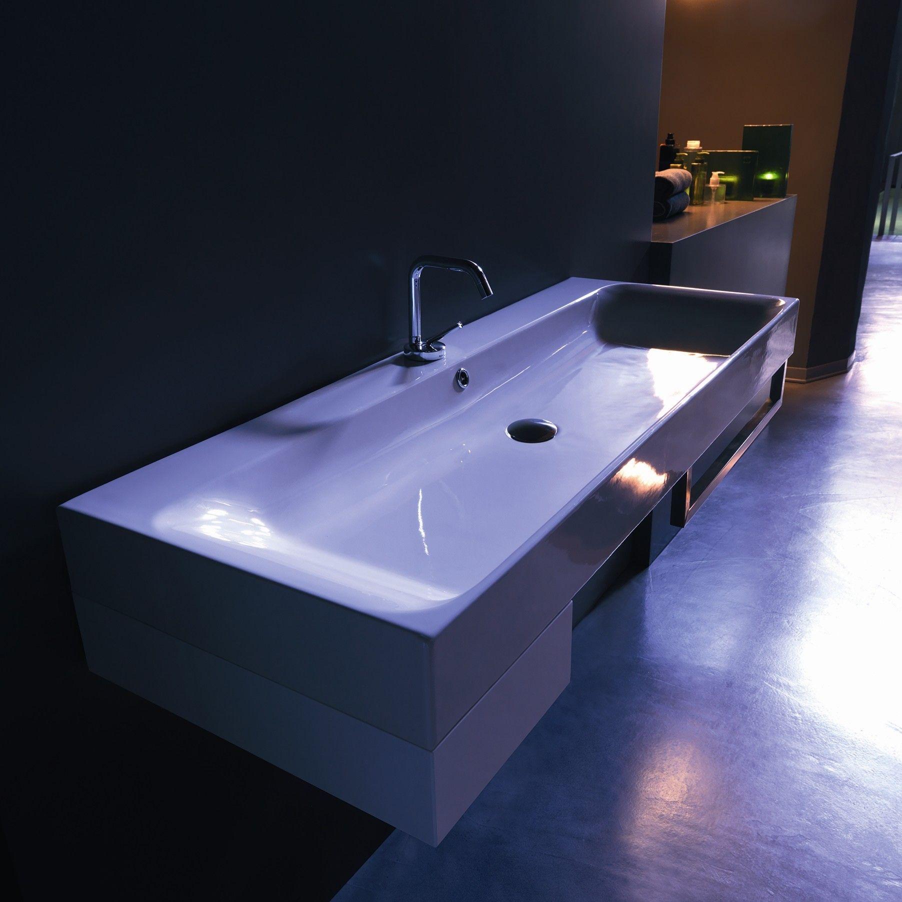 WS Bath Collections Kerasan Cento Wall Mounted / Vessel Bathroom ...
