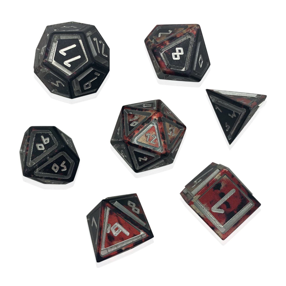 Wondrous Nimbus Precision Cnc Aluminum Dice Set Vampire Lord Cnc Vampire Gaming Accessories The foundry was instituted to introduce a series of stronger weapons in a realm where most warriors use plastic, light weapons. wondrous nimbus precision cnc aluminum