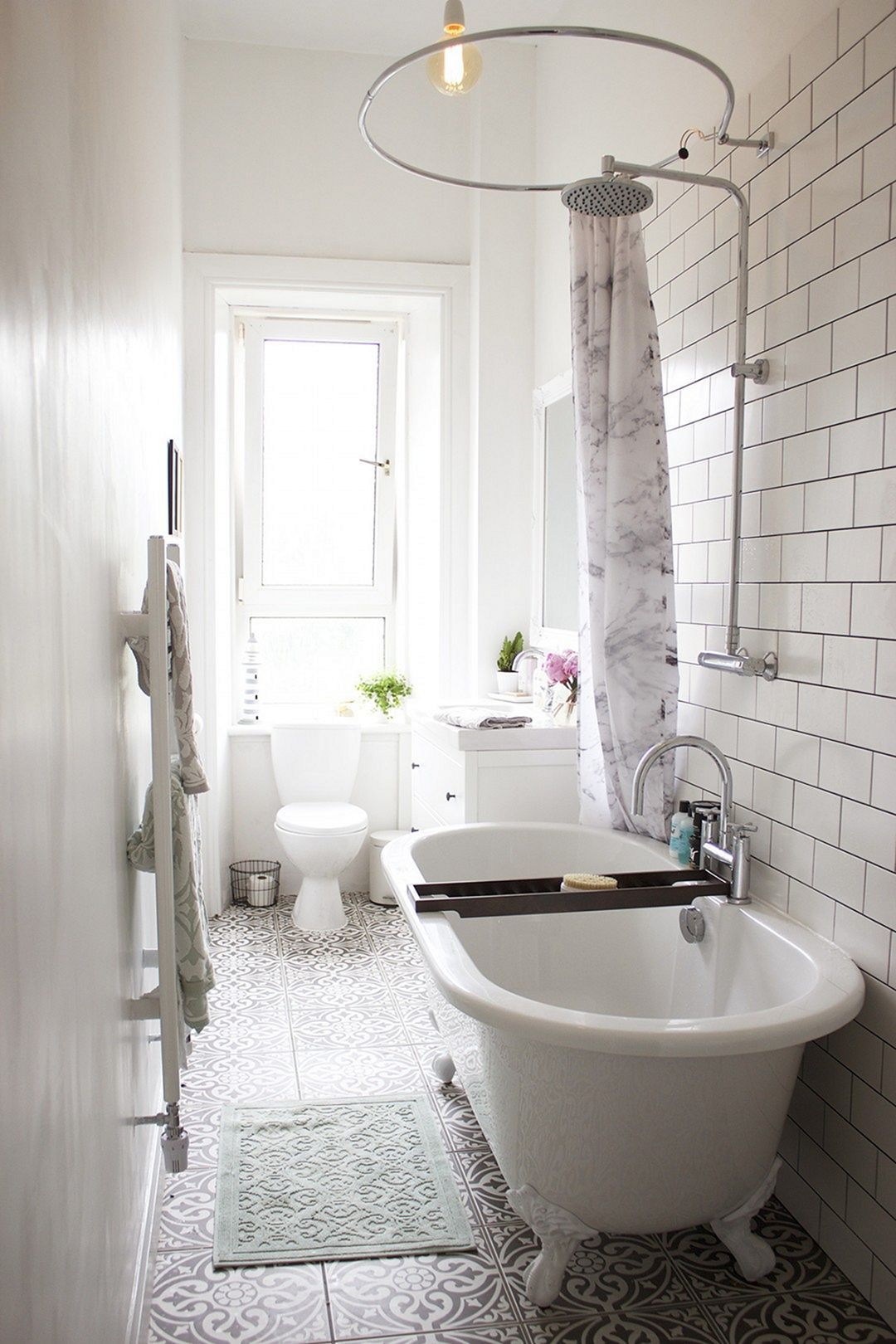 115 Extraordinary Small Bathroom Designs For Small Space | Small ...