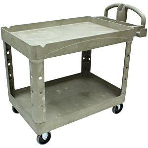 "You wont find it anywhere cheaper than costco.    Rubbermaid  Heavy-Duty Utility Cart 26""W x 45""D Beige"