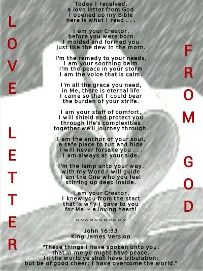 100 days in awe of god day 22 love letter from god poem