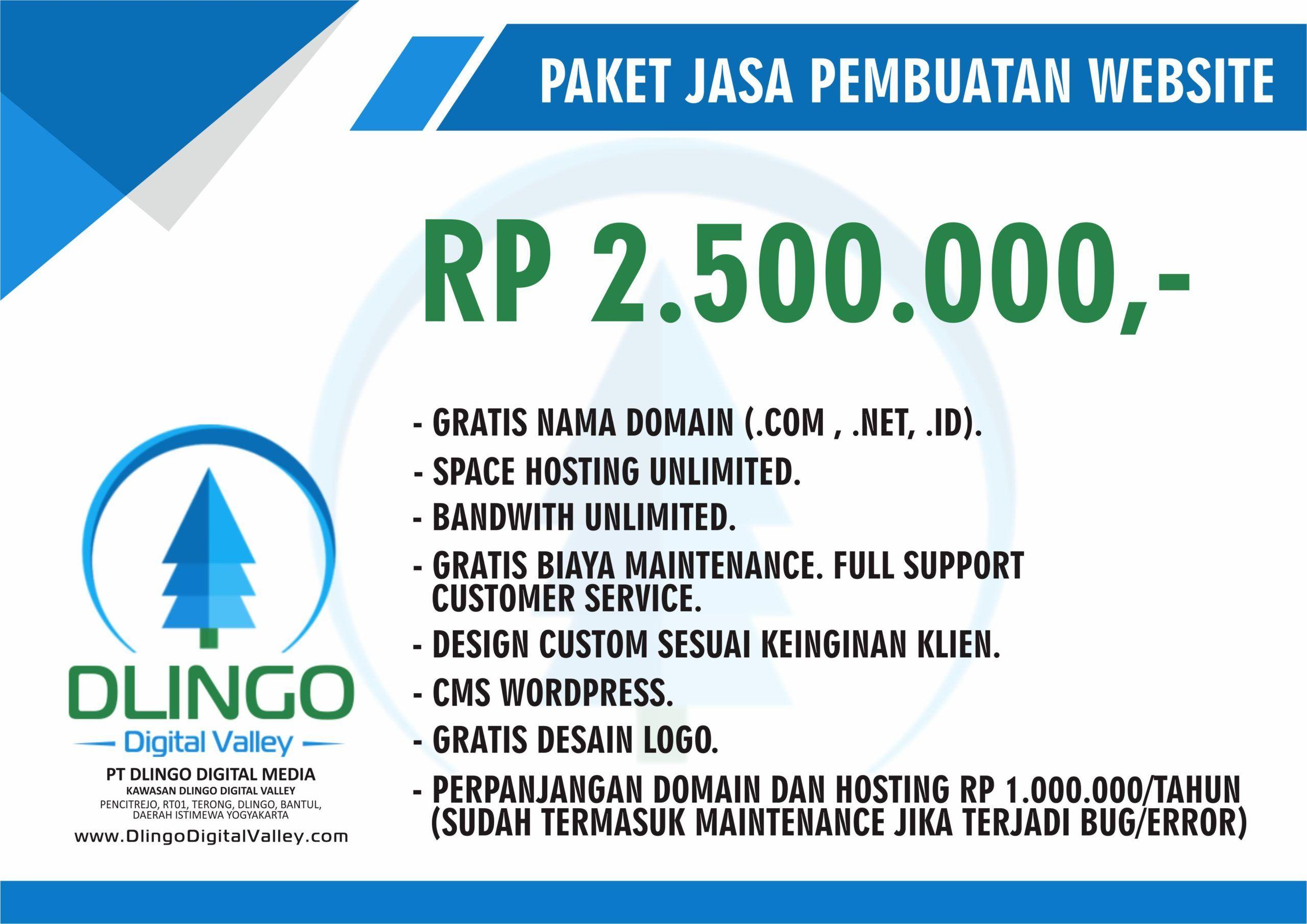 Jasa Pembuatan Website Murah Dan Berkualitas Di Bandung Di 2020 Desain Web Website Rencana Pemasaran
