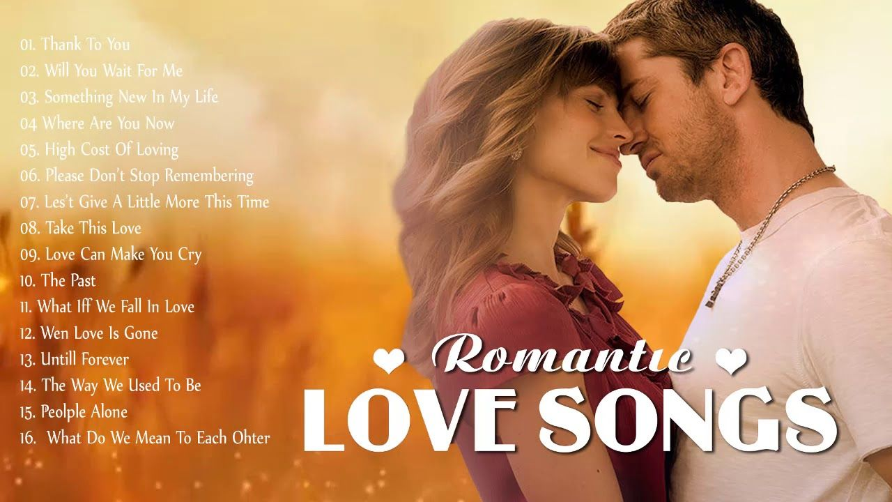 Best Love Songs 80's 90's Collection - Most Romantic Love