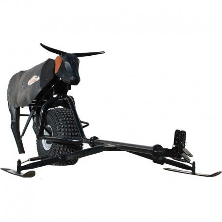 Hot Heels Crossfire Roping Dummy with Springer Hitch