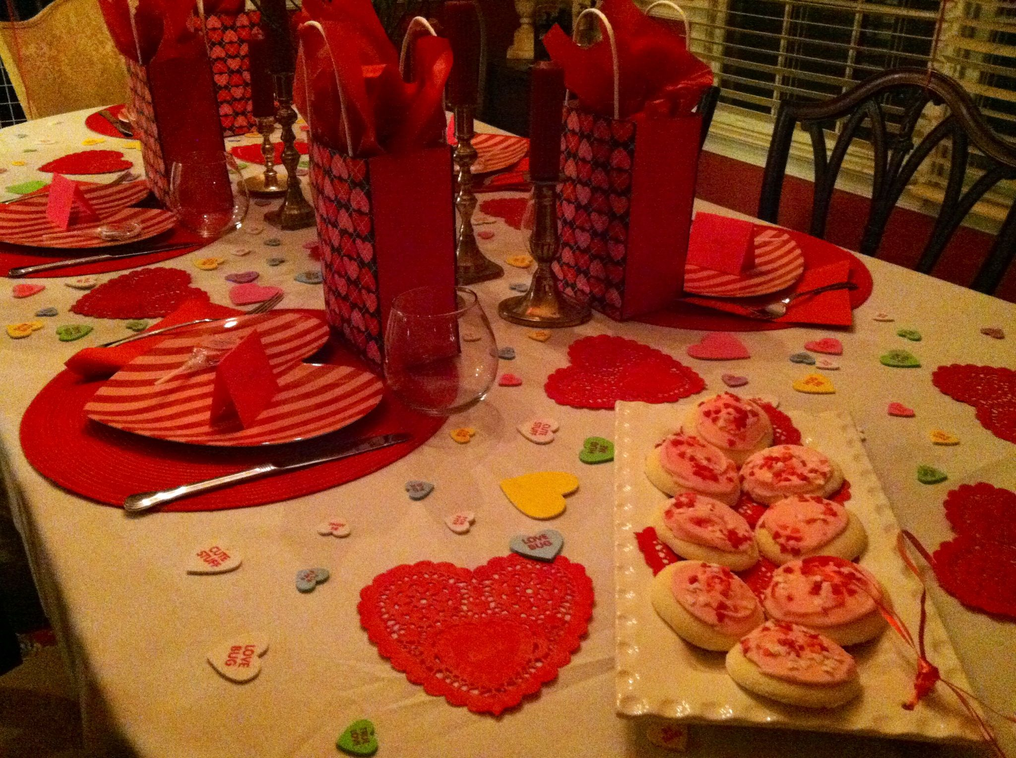 Titles for a valentines day party just b cause for Valentine day dinner party ideas