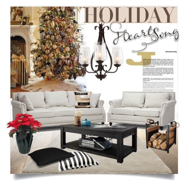 Holiday Heart Song Heart songs, Interior decorating and Polyvore