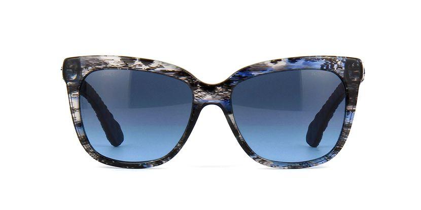 24e54321e854 Chanel 5343 1554 S5 Brown and Black Demin Sunglasses