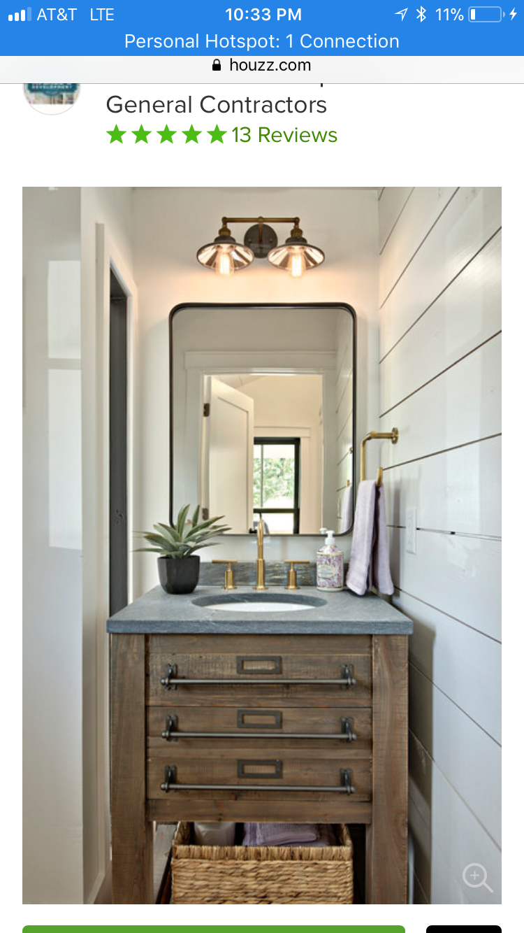 Modern farmhouse bathroom image by Jessica Bay on Bathroom