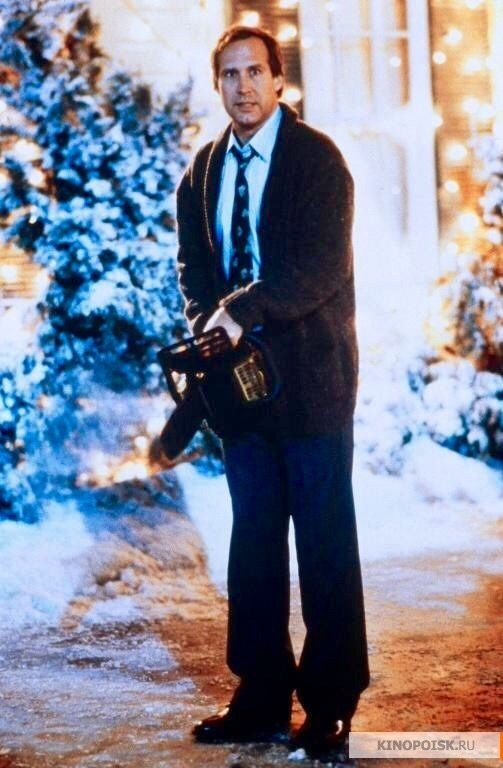 Christmas Vacation (1989) - ELLEN: Uh oh, he's got that crazy look ...