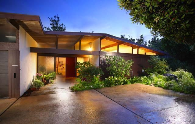 Mid century post and beam homes google search what for Mid century post and beam house plans