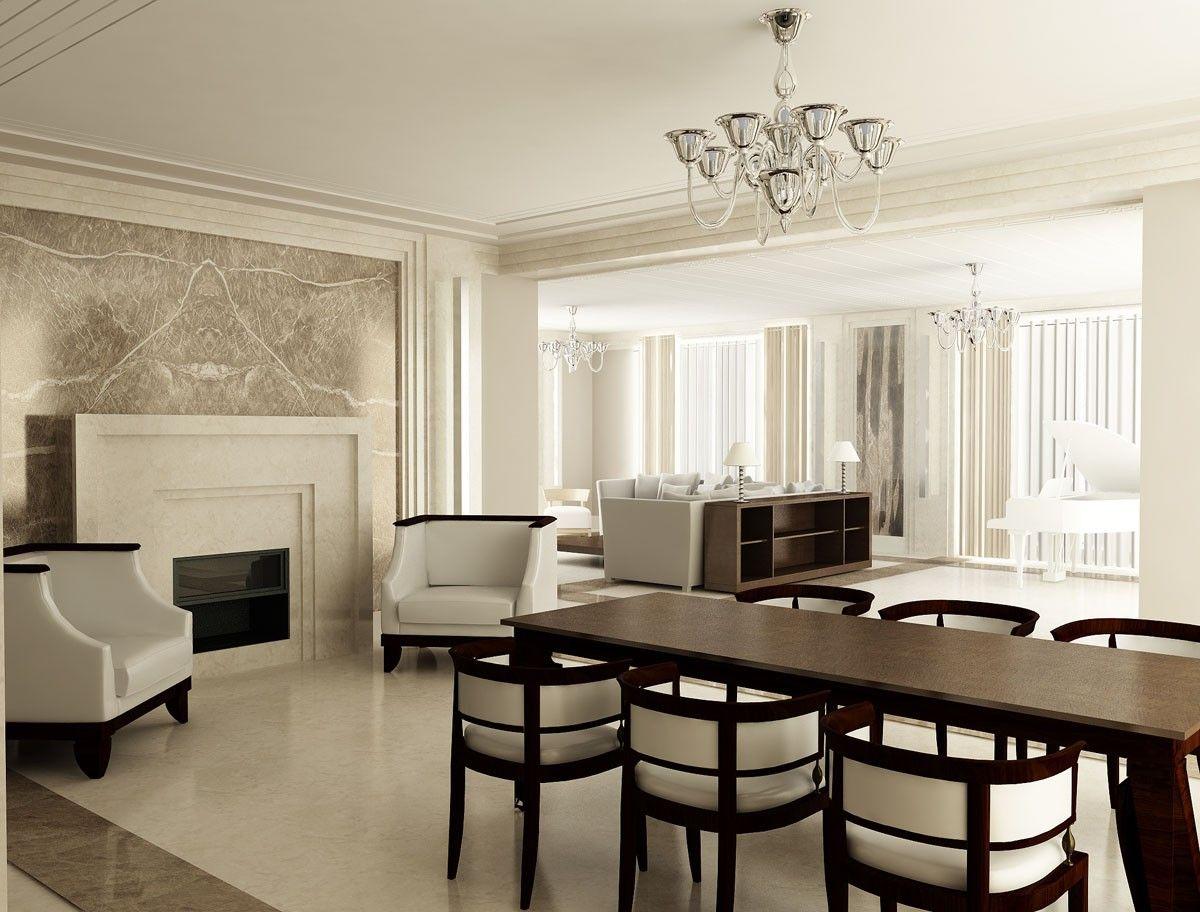 Classic Art Deco Living Room