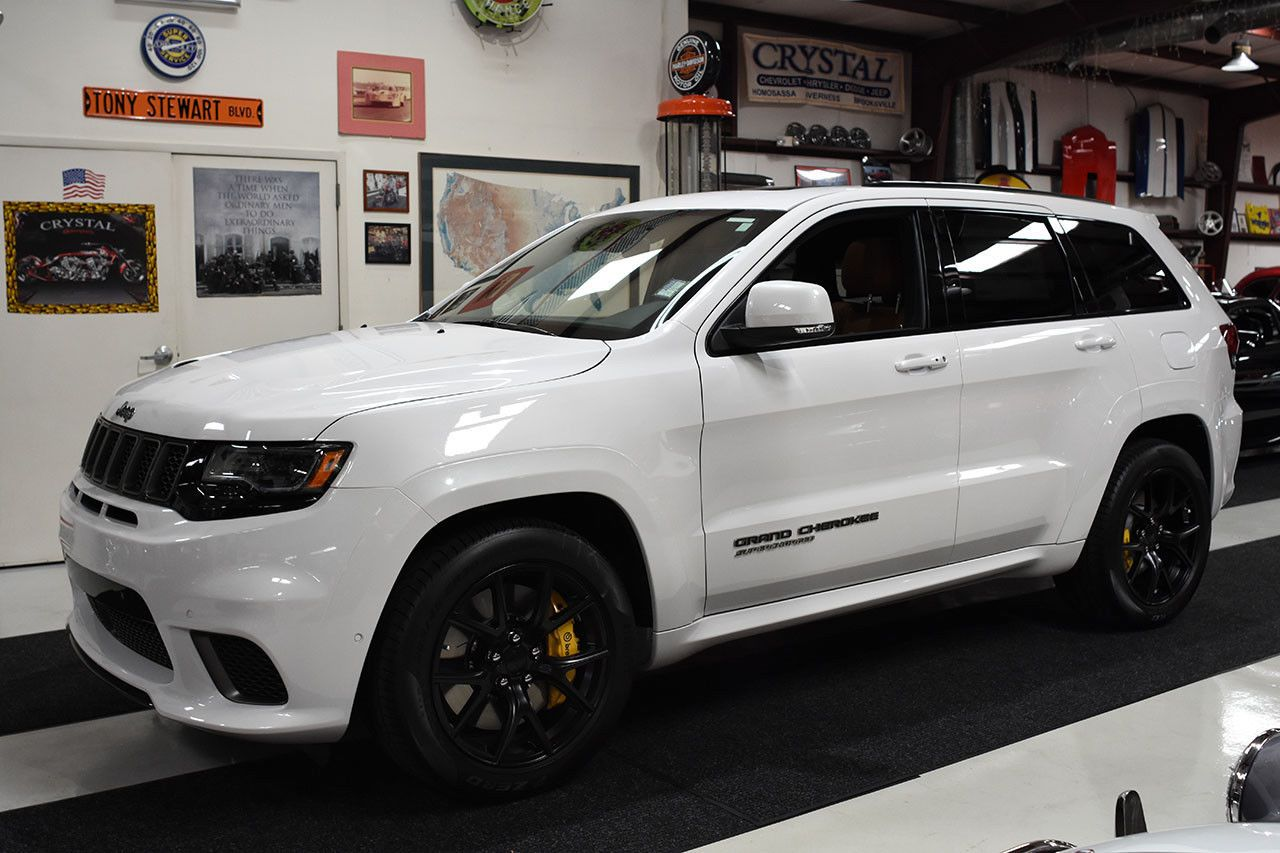 2018 Jeep Grand Cherokee Grand Cherokee Trackhawk 707 Hp Hellcat Engine New Ebay New W 11 Miles Price Is 96 Jeep Grand Cherokee Jeep Grand Hellcat Engine