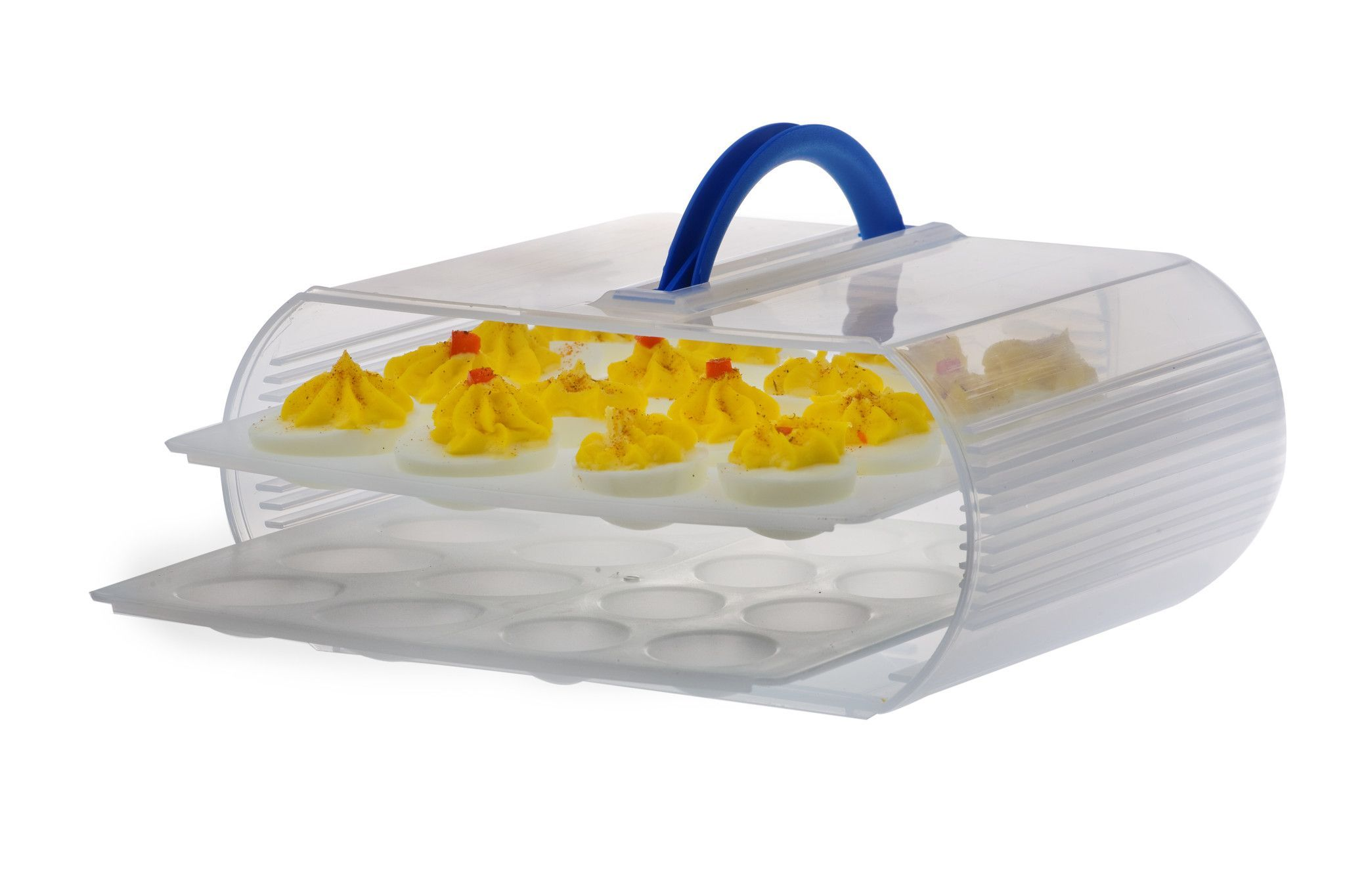 Charming Use The Deviled Egg Trays Instead Of The Straight Trays In Your Bakers Sto  N Go Food Storage Containers. Now You Can Store 32 Deviled Eggs, Even  Truffles. Home Design Ideas