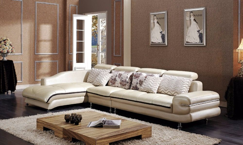2016 European Style Bag Sofa Set Beanbag Hot Sale Real Modern Italian Style Leather Corner Sofas For Living Room Furniture Sets Dengan Gambar Dekorasi Rumah Rumah Dekorasi