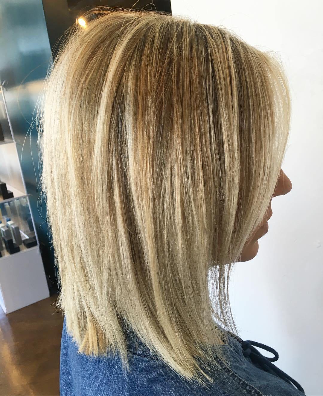 10 Perfect Medium Length Hairstyles for Thin Hair  Medium hair