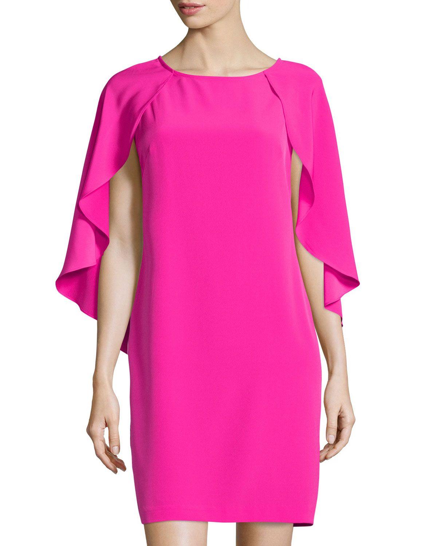256b3b5a300 Donna Ricco Cap-Sleeve Dress