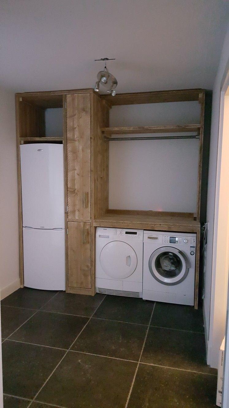 Wasmachine Ombouw Wasmachine Ombouw In 2019 Wasruimtes