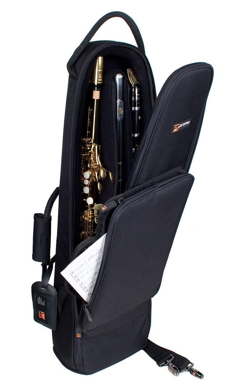 55da46fe78b Protec C250 Soprano Ewi Clarinet Flute Combination Bag - Sax.co.uk ...