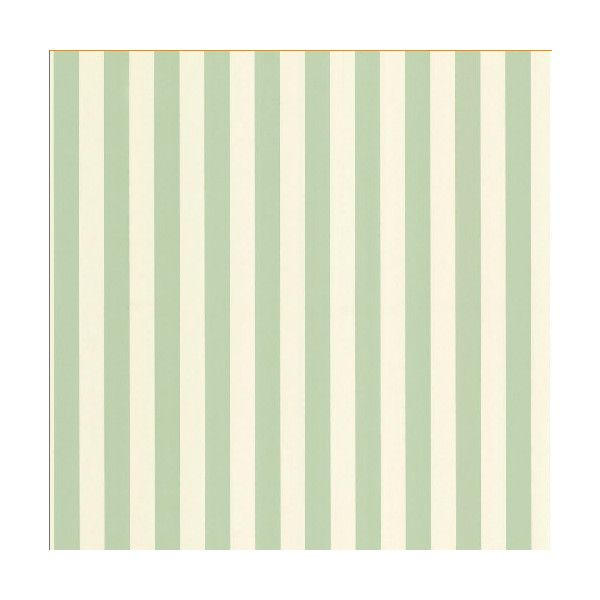 Green Pastel Two Tone Stripe Wallpaper