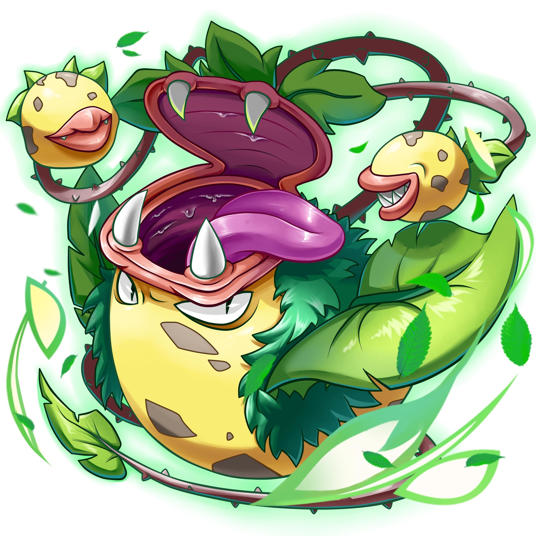 Mega Victreebel by SKINGmaya (With images)   Pokemon ...