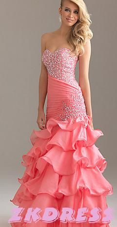 Just like doing a lot of colors. Some of these dresses are just so plain.....