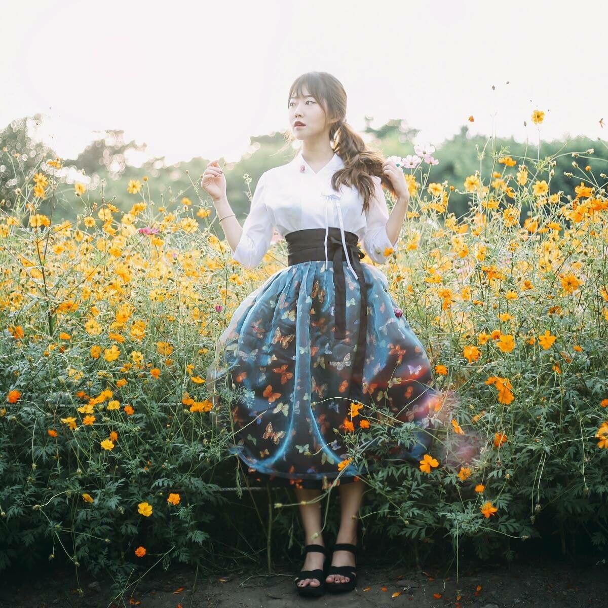 한복 Hanbok Korean traditional clothes[dress]
