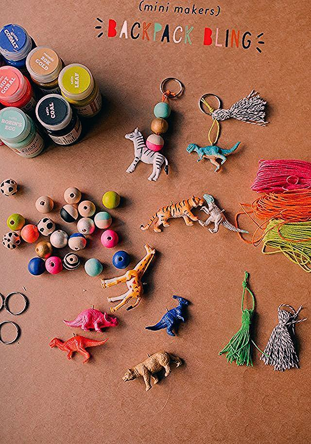 Photo of Plastic Cork crafts – MINI MAKERS BACKPACK CHARMS
