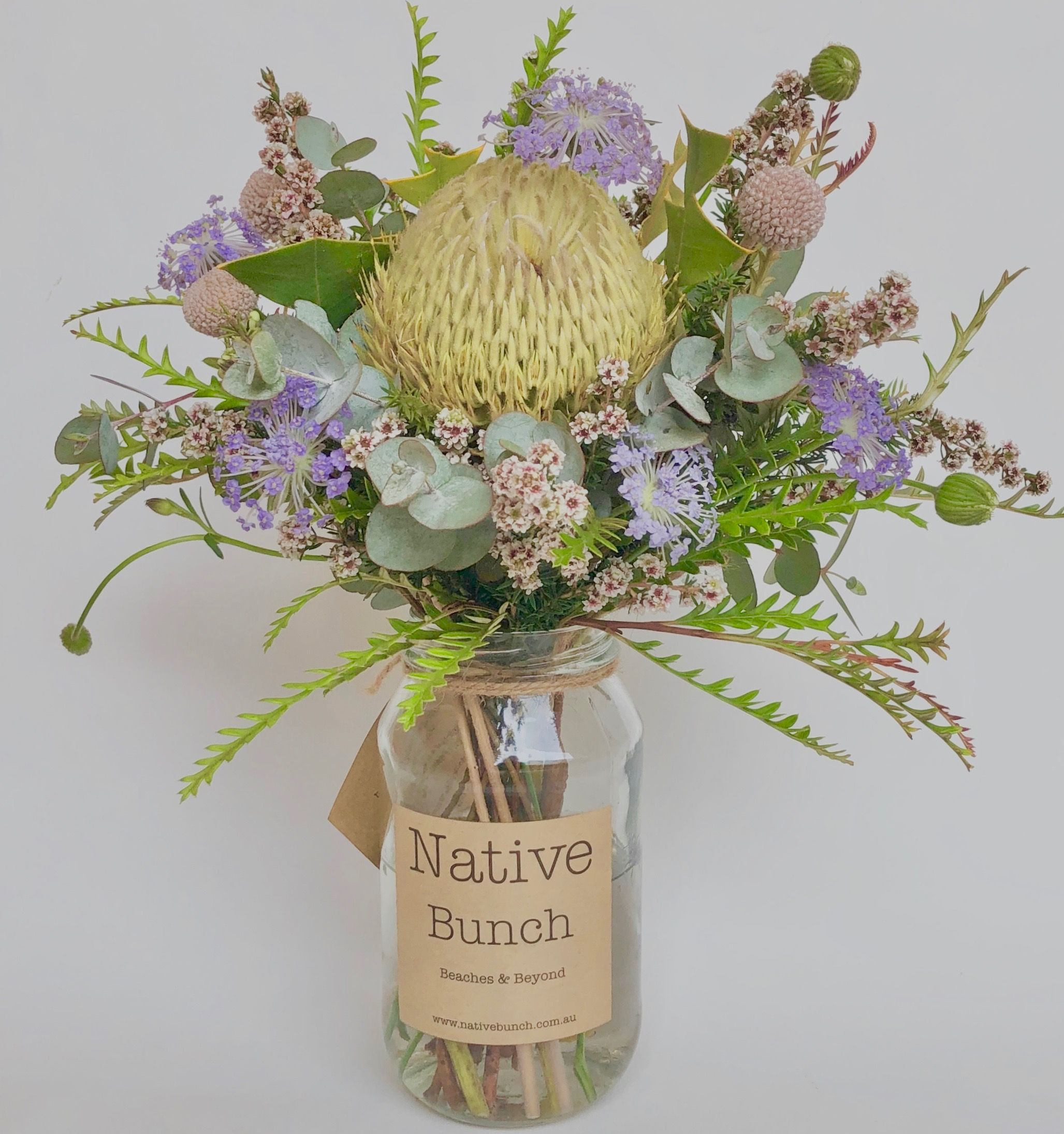 All Australian Native flower posy by Native Bunch
