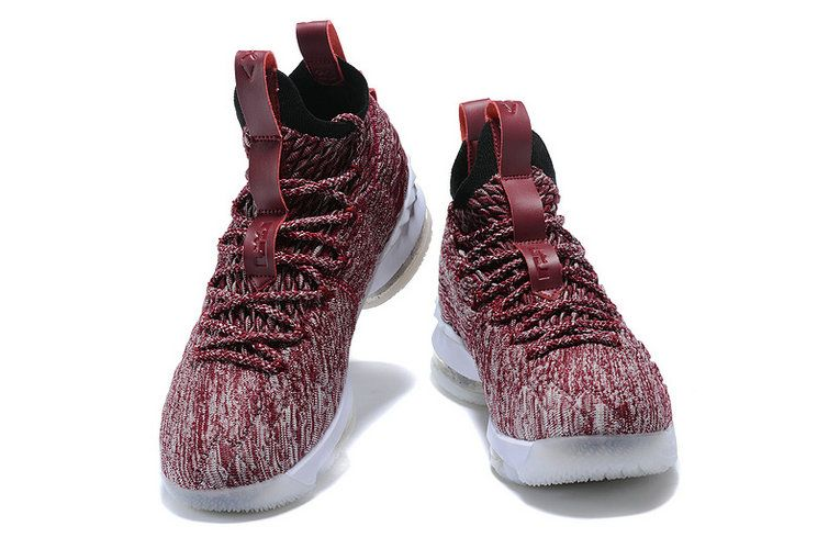 best service 354a4 10b99 2018 Authentic 2018 Nike LeBron 15 Wine Basketball Shoes