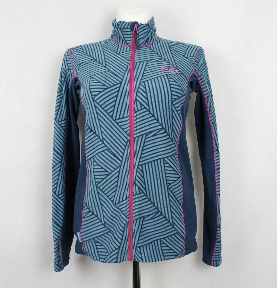 Polar Outdoor Fleece Bluse Zip Rulle Full Kari Traa dxBsrthQC